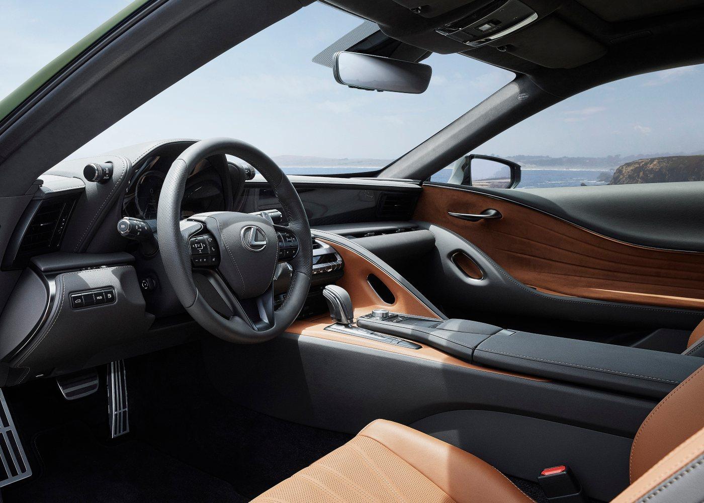 Interior Lexus LC500