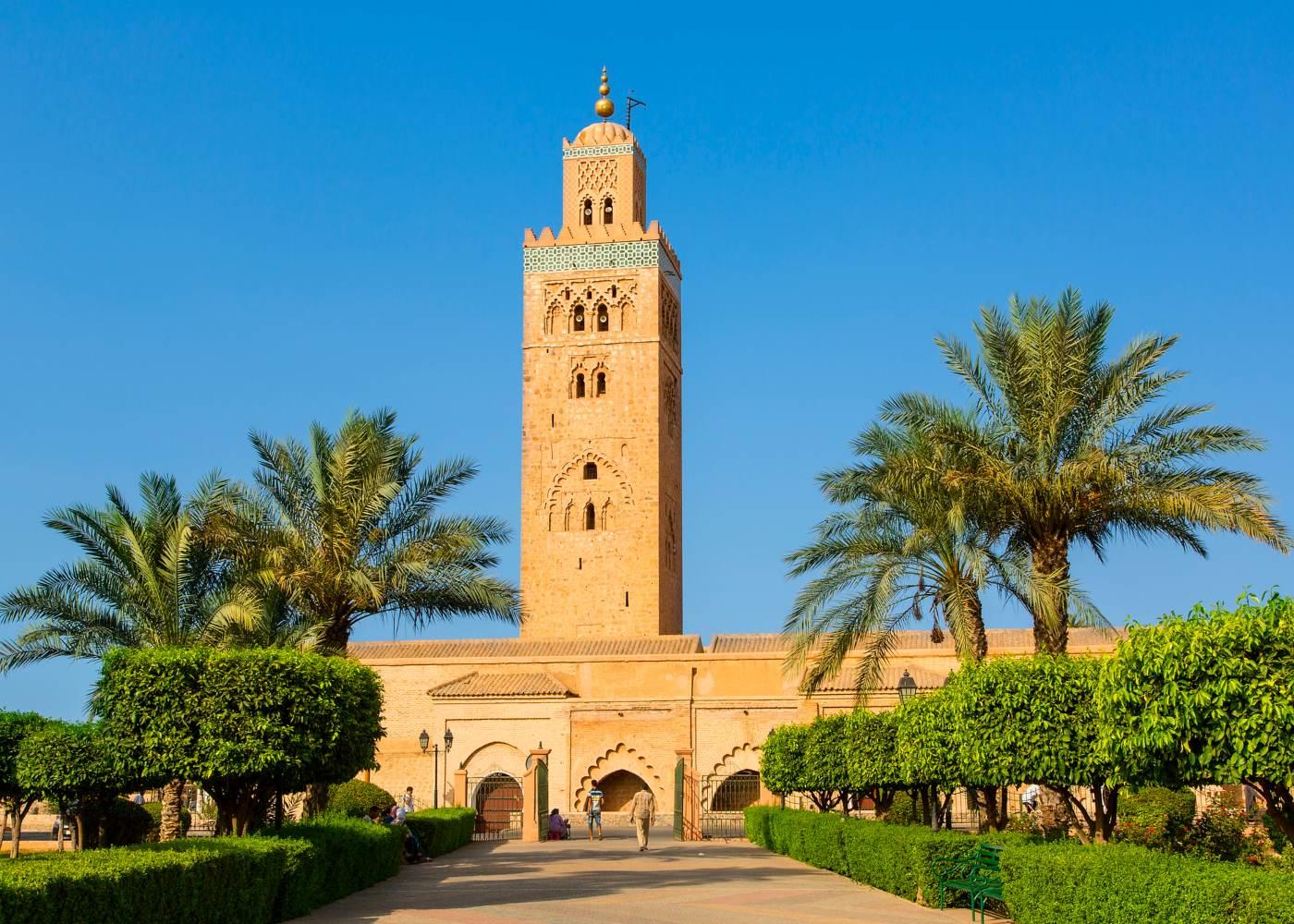 Mesquita em marrocos