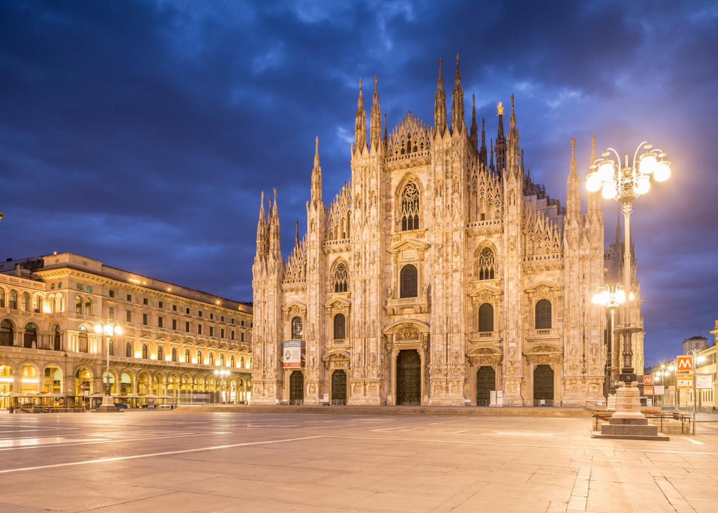 Duomo para visitar num roteiro de 3 dias em Milão