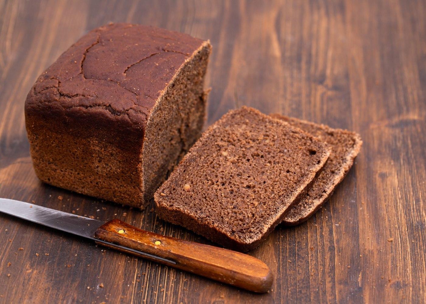 Pão de aveia e alfarroba sem glúten