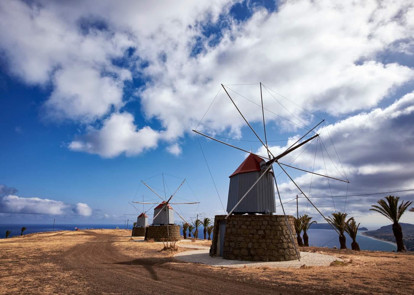 Moinhos no Porto Santo
