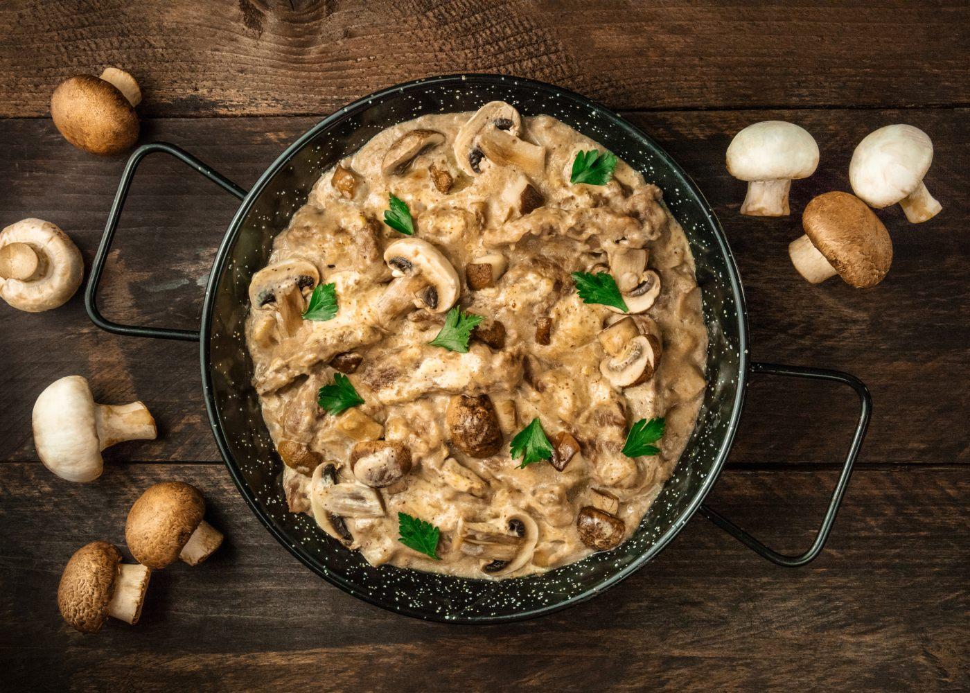 preparar-molho-cogumelos