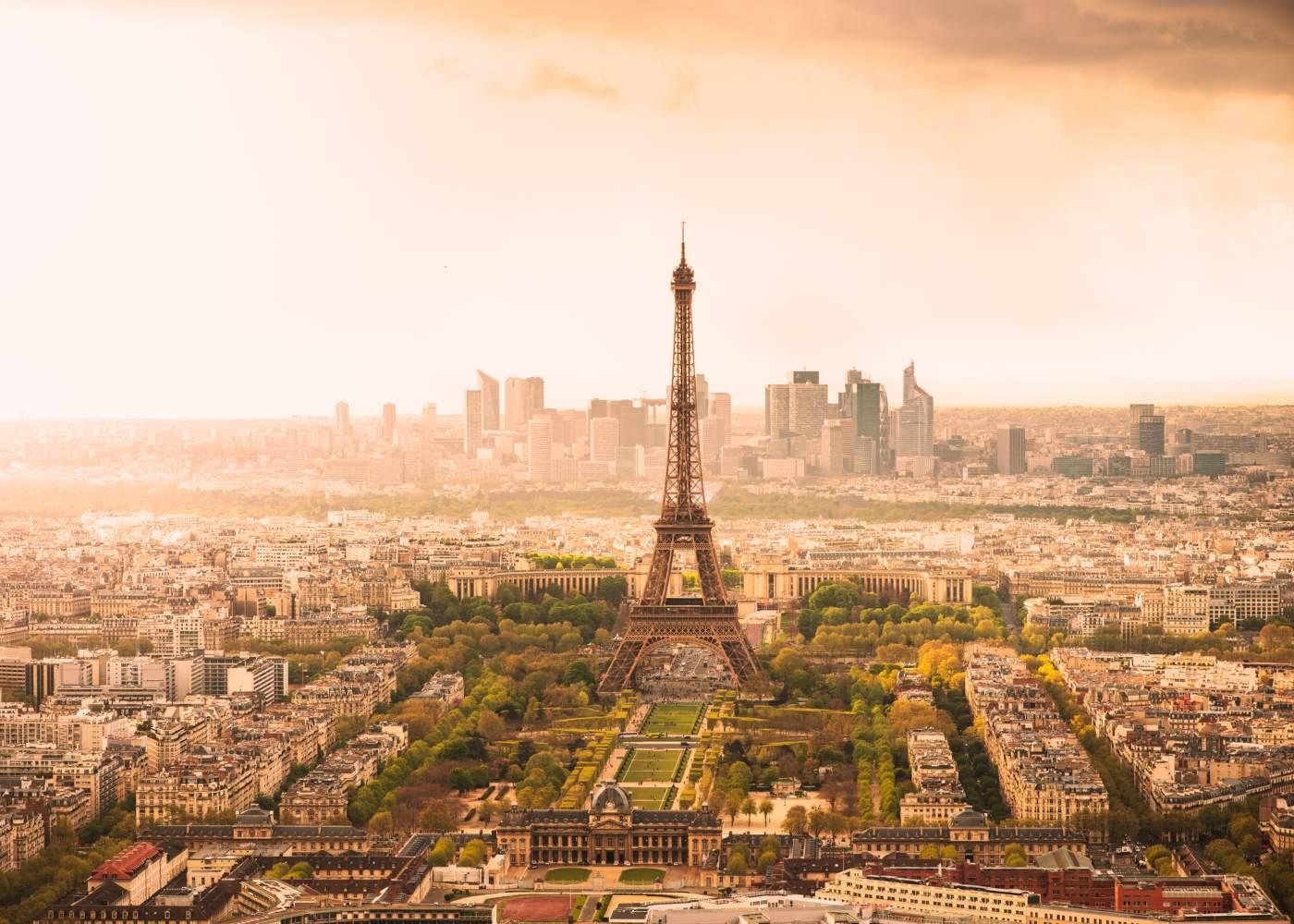 Panorâmica geral de Paris
