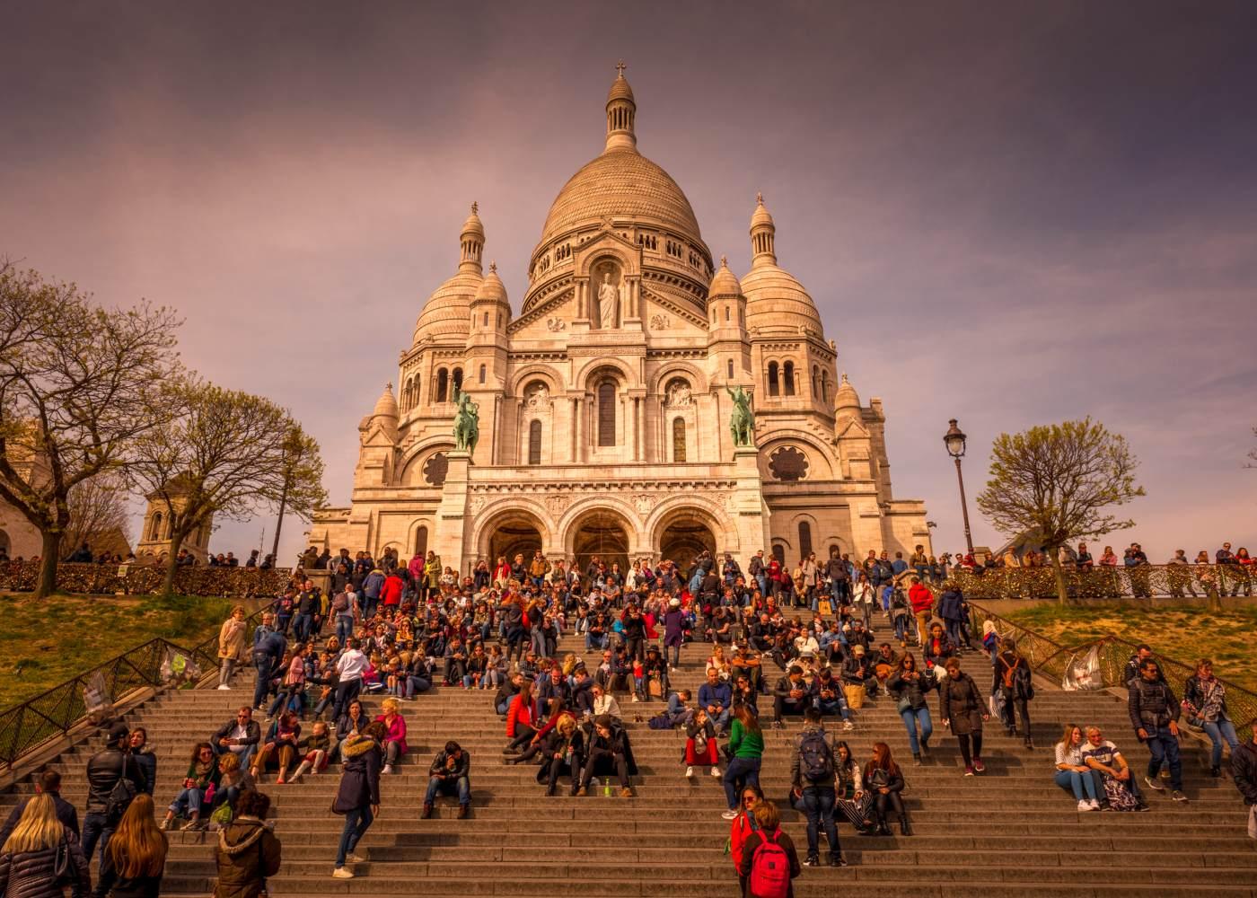 Basílica do Sacré-Coeur em Paris
