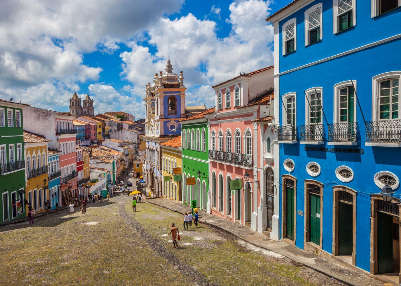 Largo do pelourinho em Salvador da Bahia