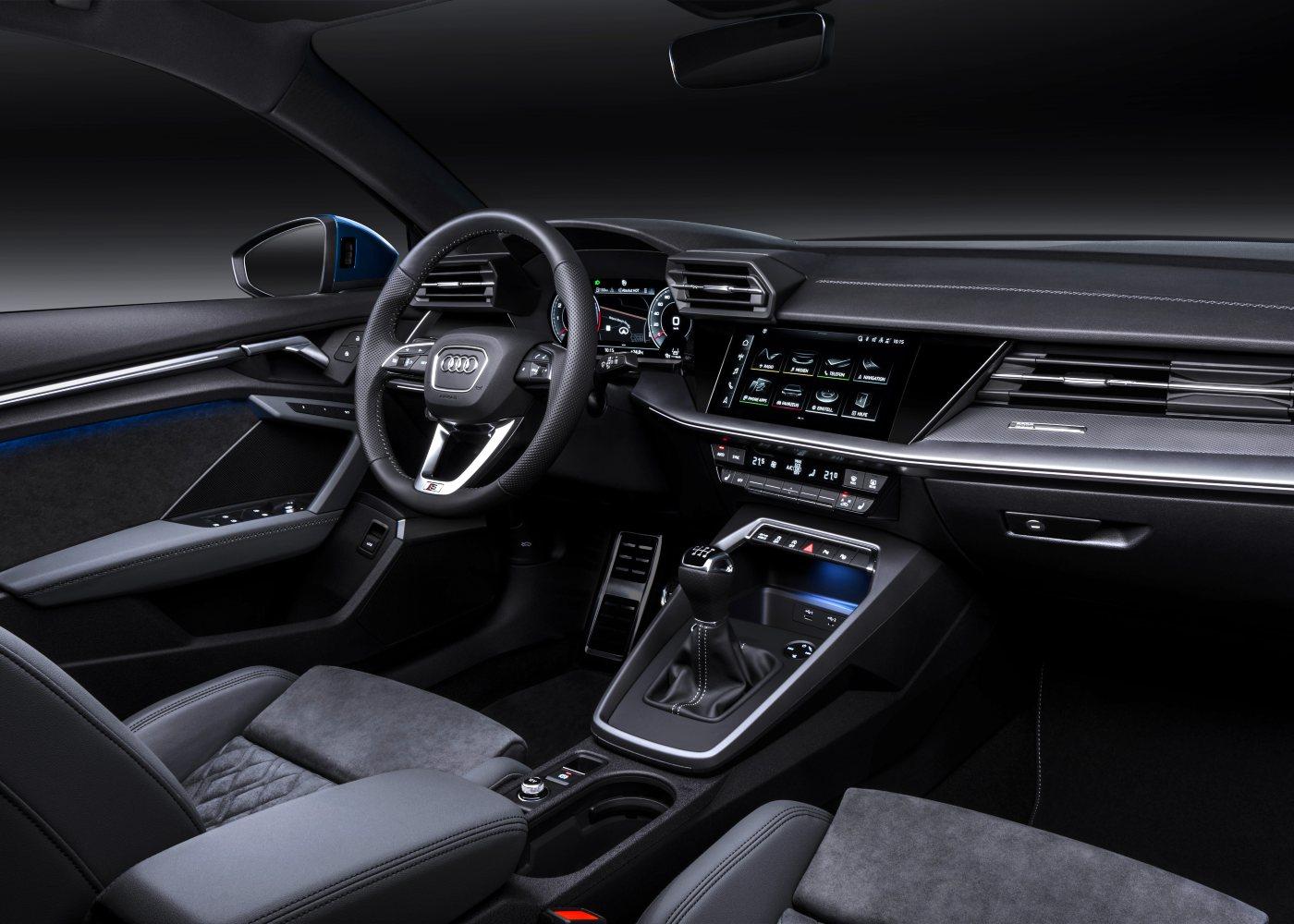 Interior do novo Audi A3