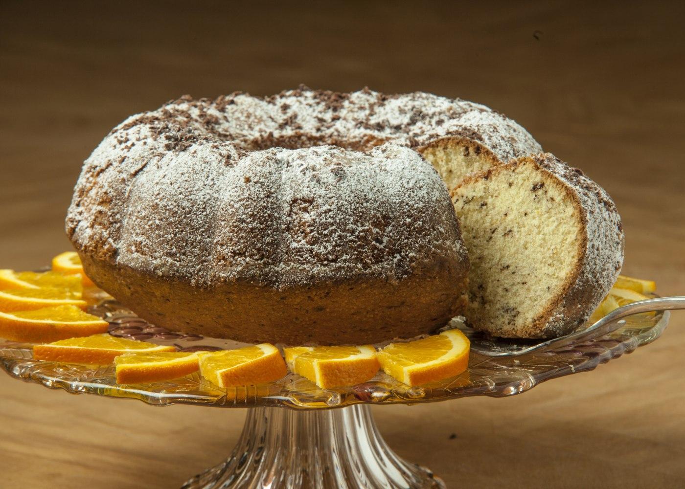 bolo de laranja light