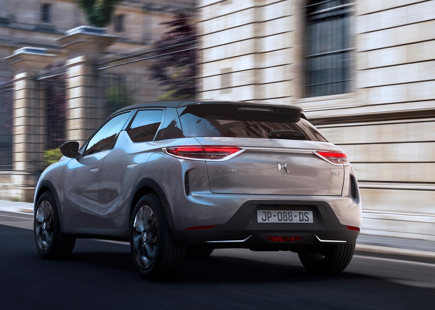 DS 3 E-tense um dos carros elétricos a venda em Portugal