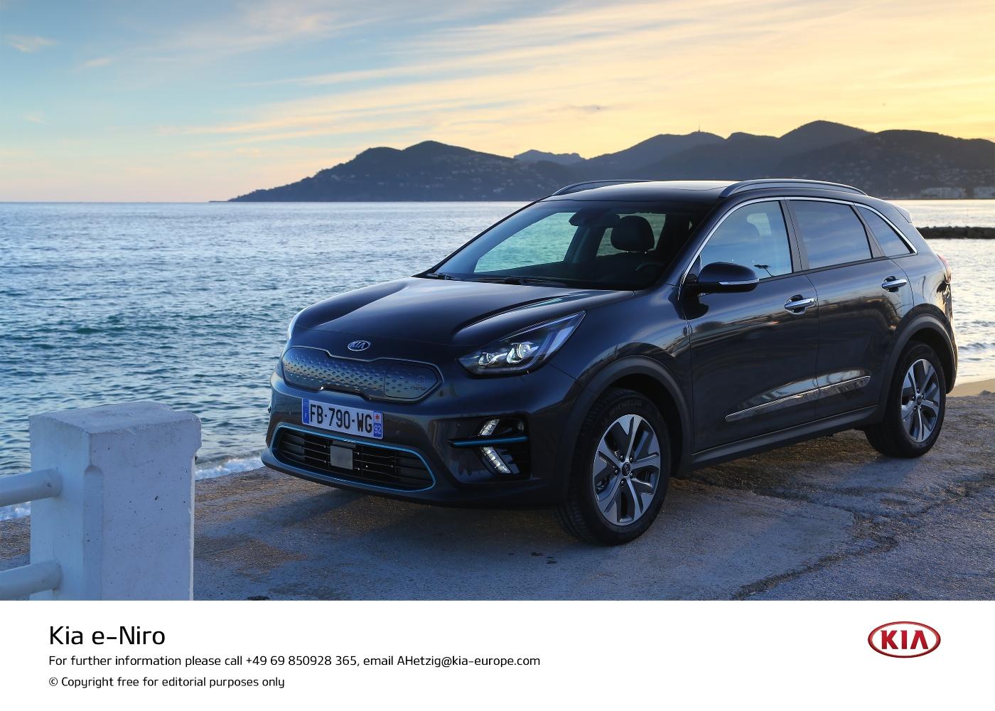 KIA E-Niro um dos carros elétricos à venda em Portugal