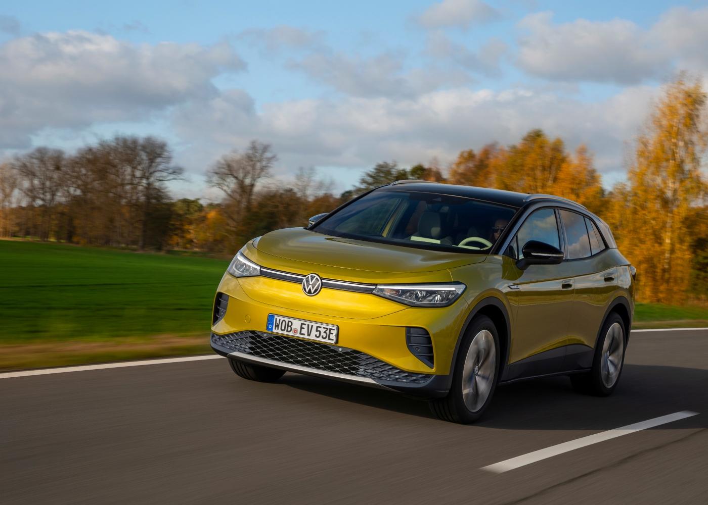 Volkswagen ID.4 um dos carros elétricos à venda em Portugal