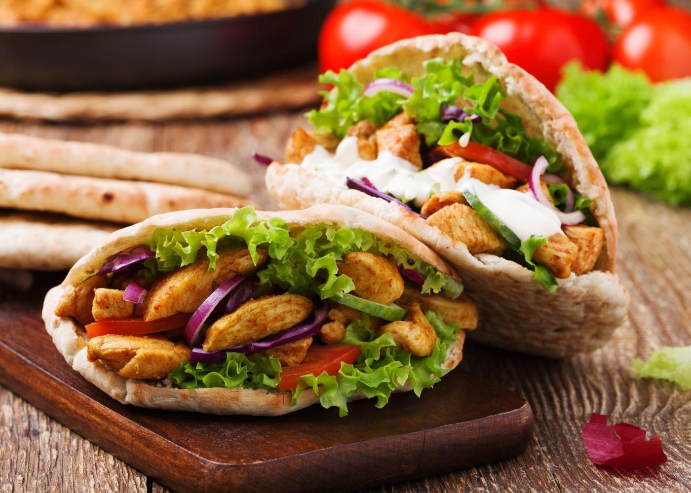 kebab frango