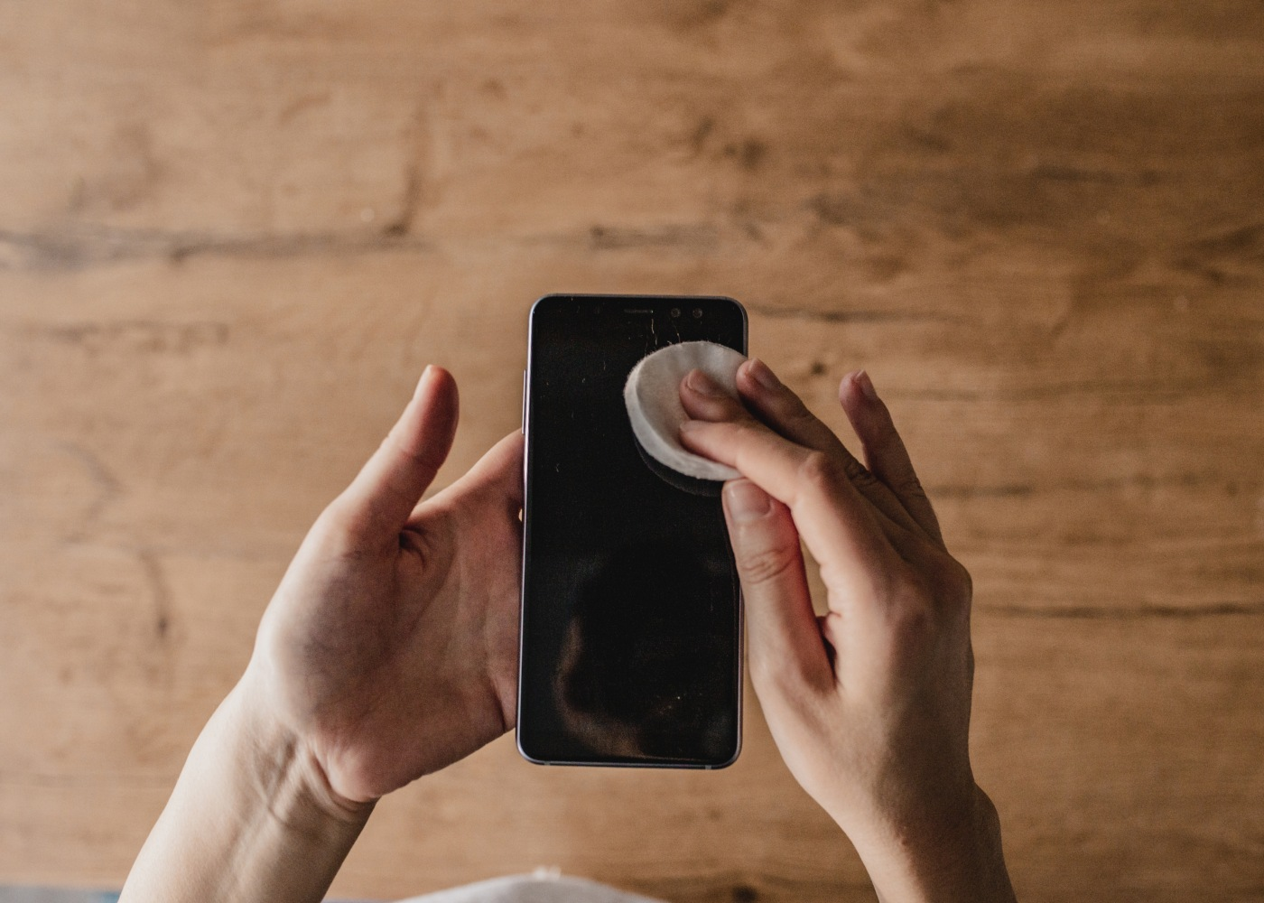 limpar smartphone