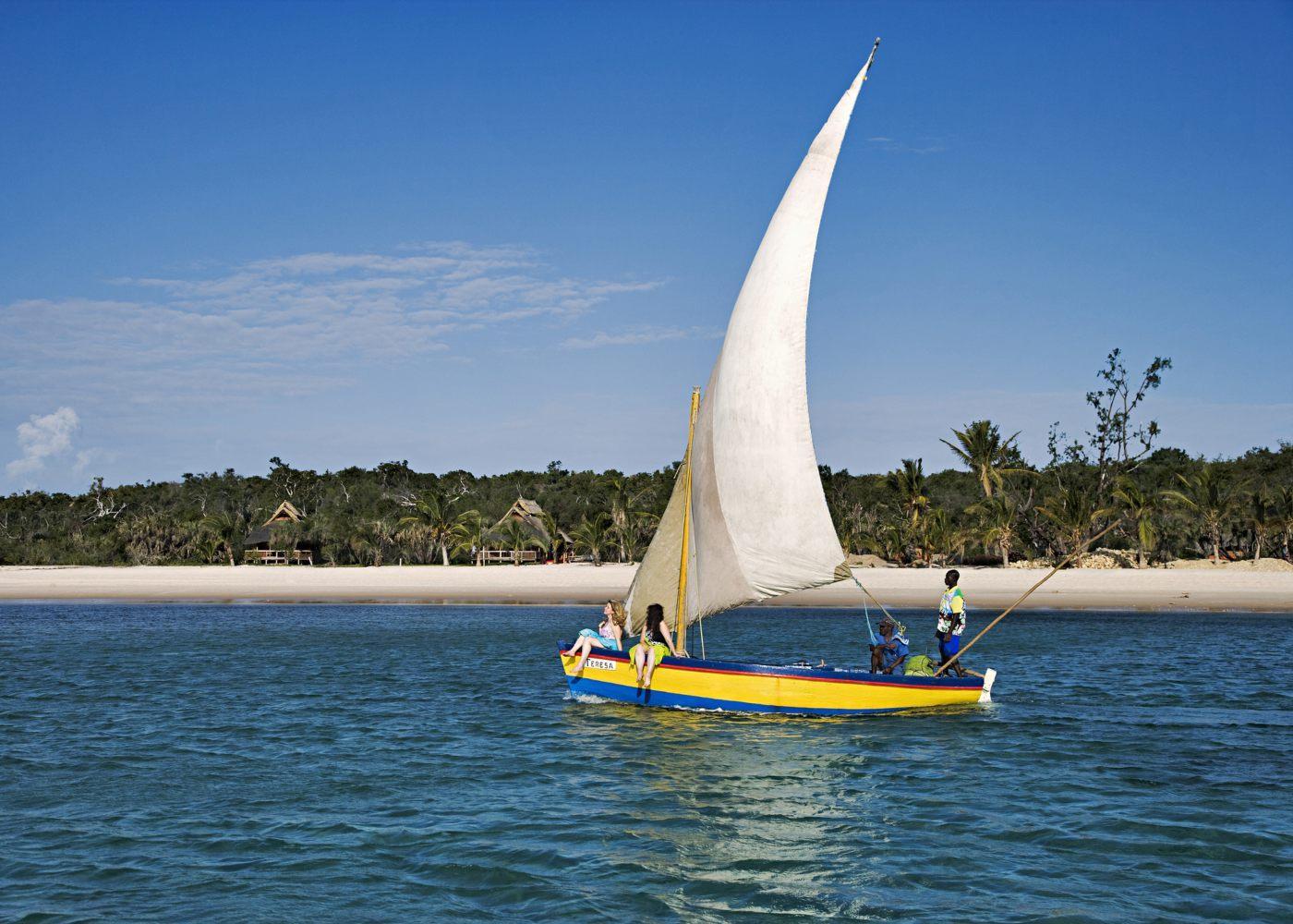 Praias do Índico em Moçambique