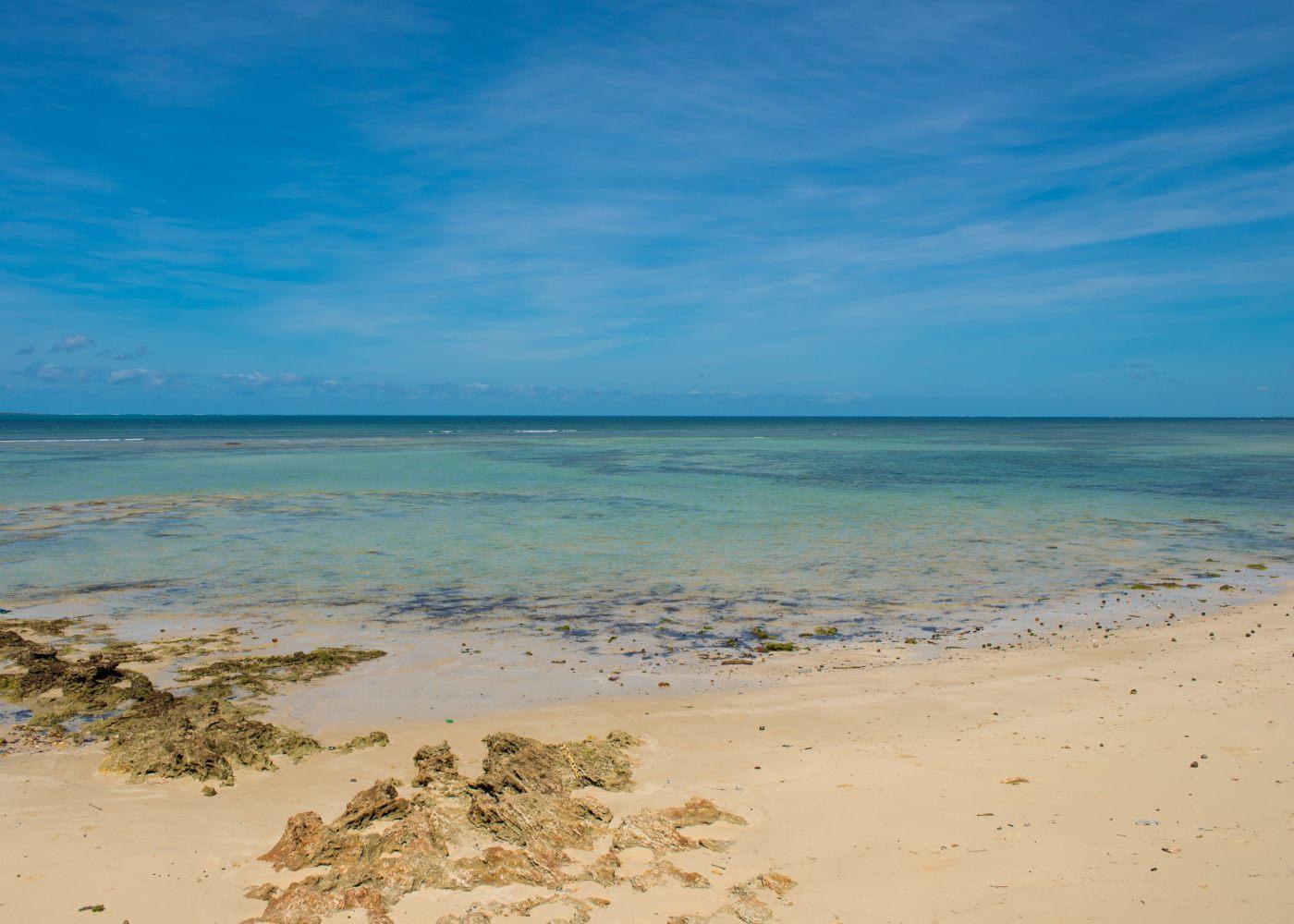 Mar em Pemba Moçambique