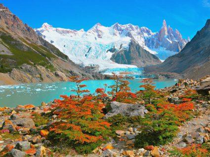 Parque dos glaciares na Patagónia