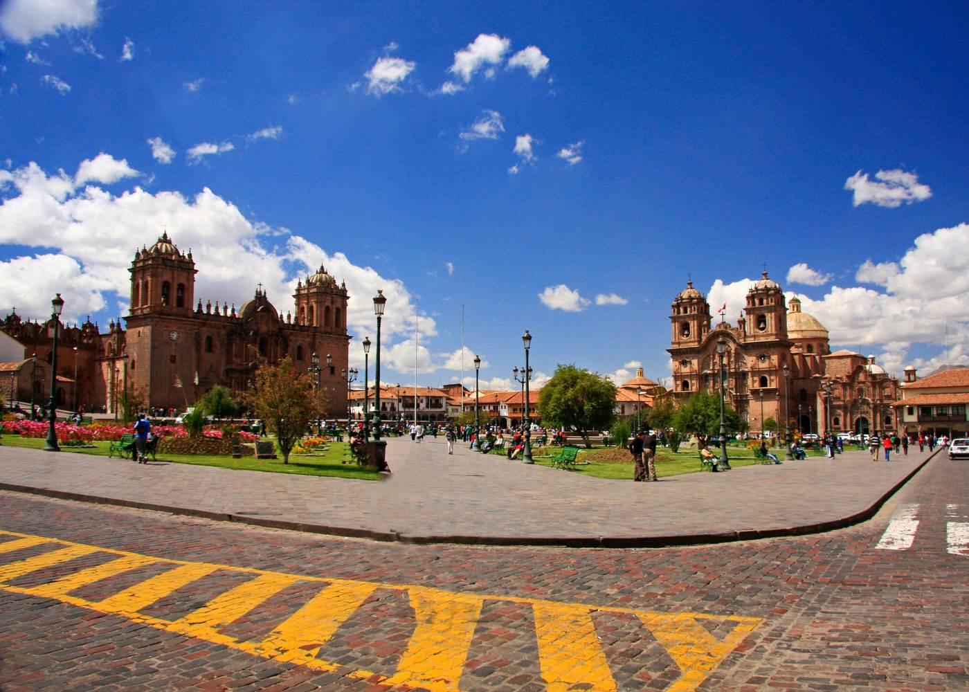 Cuzco cidade histórica do Perú