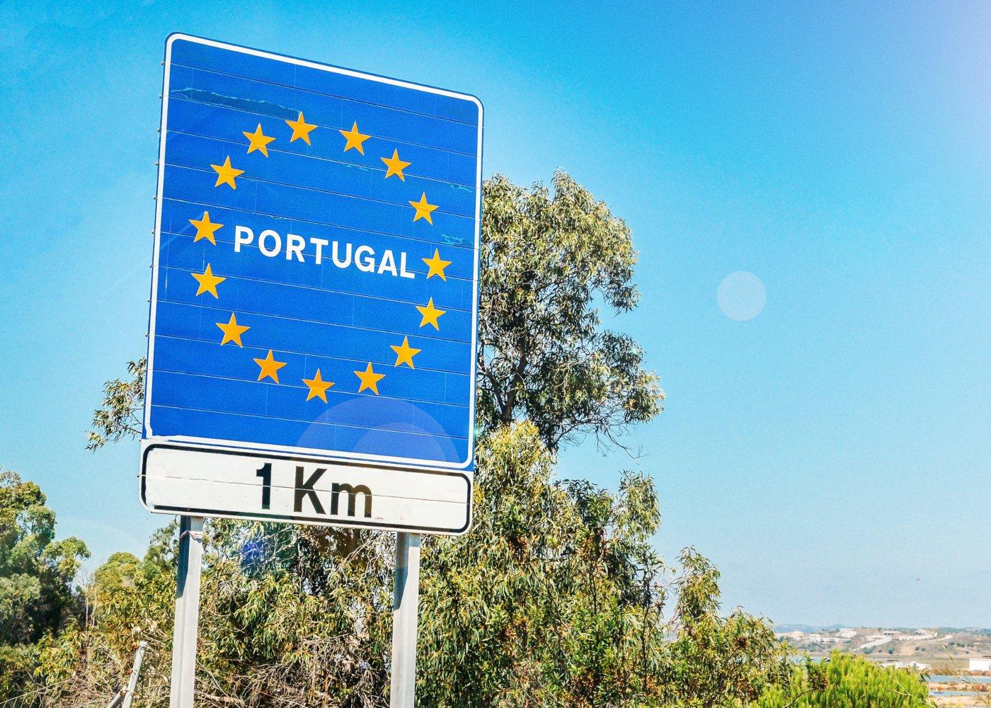 fronteira com Portugal