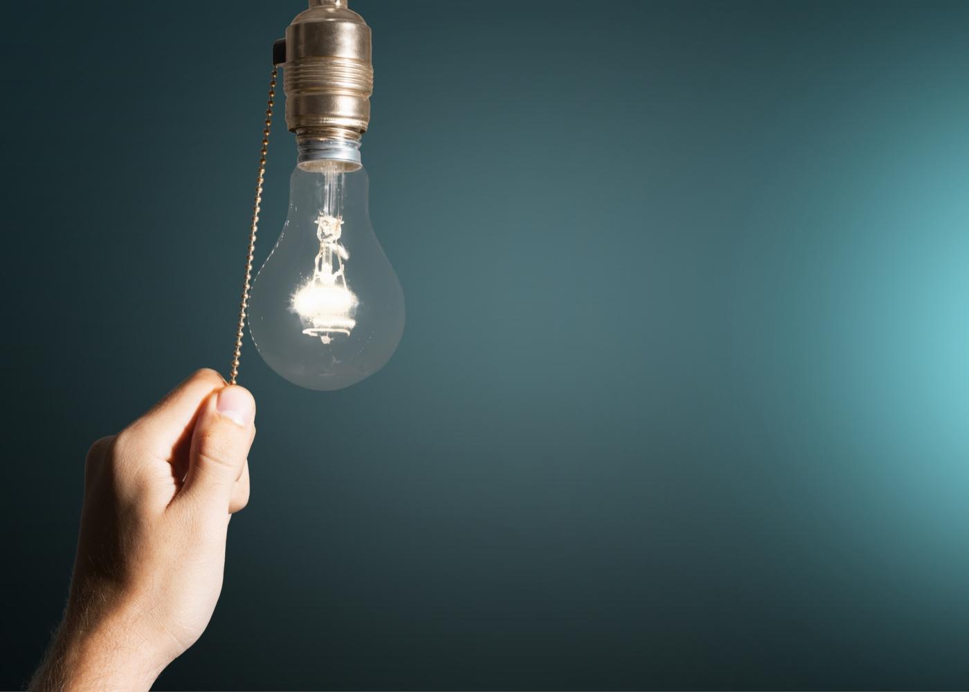 poupar luz