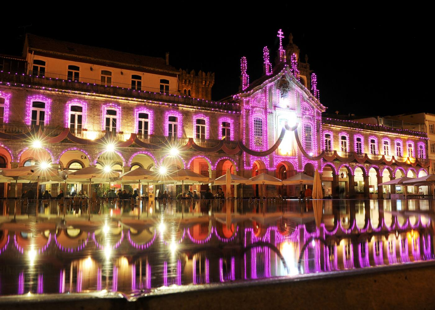 Centro da cidade de Braga