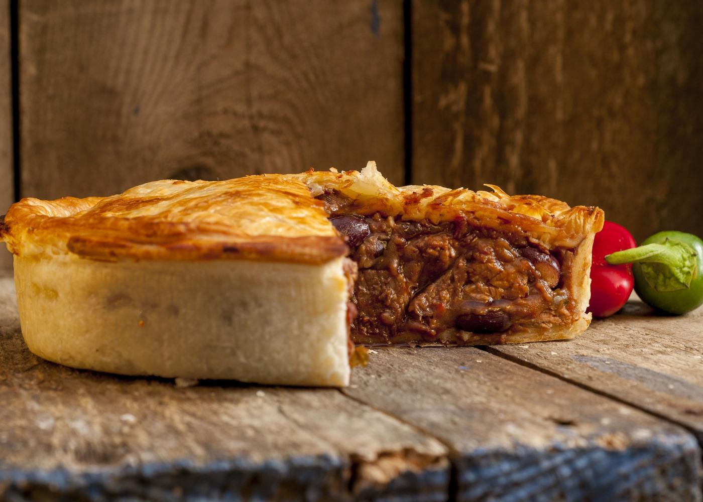 tarte de carne assada