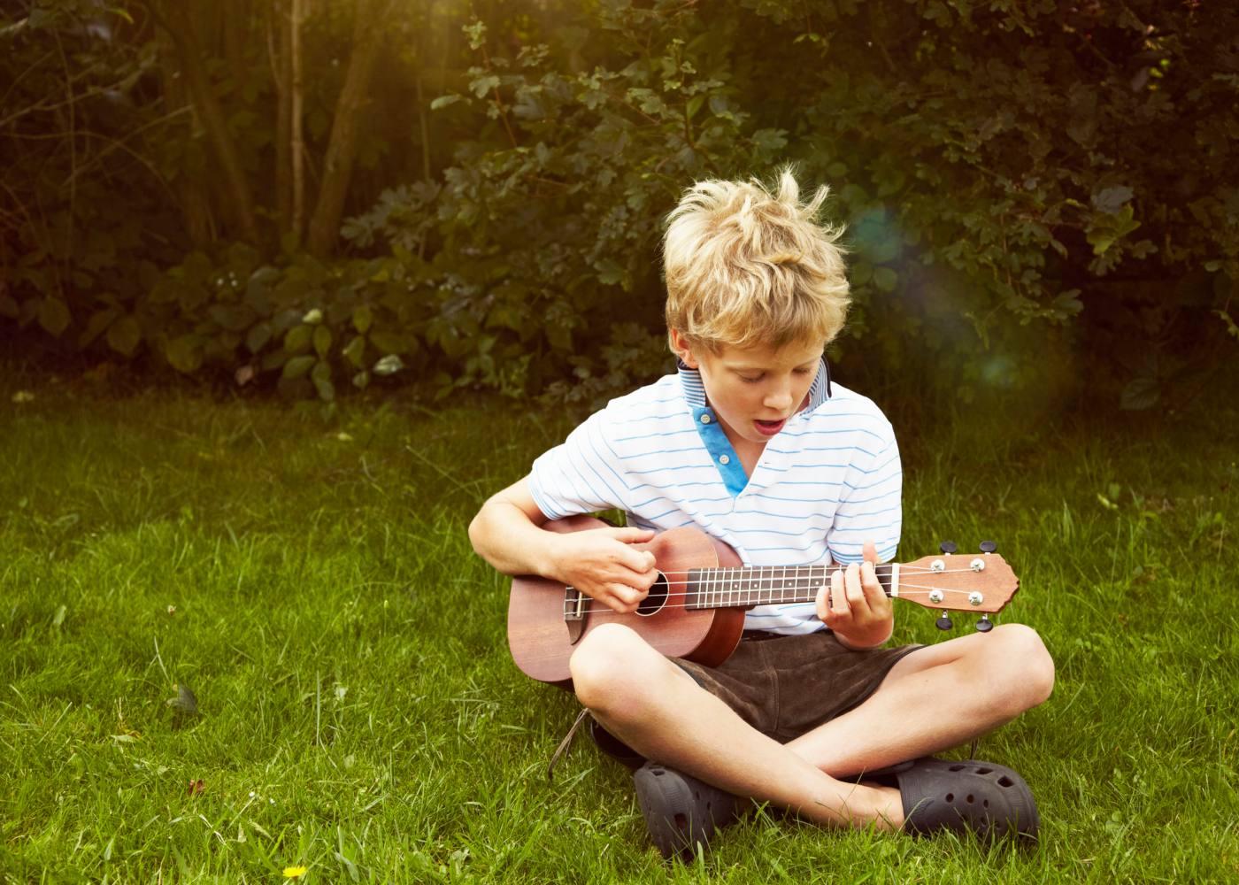 Instrumentos musicais ukulele