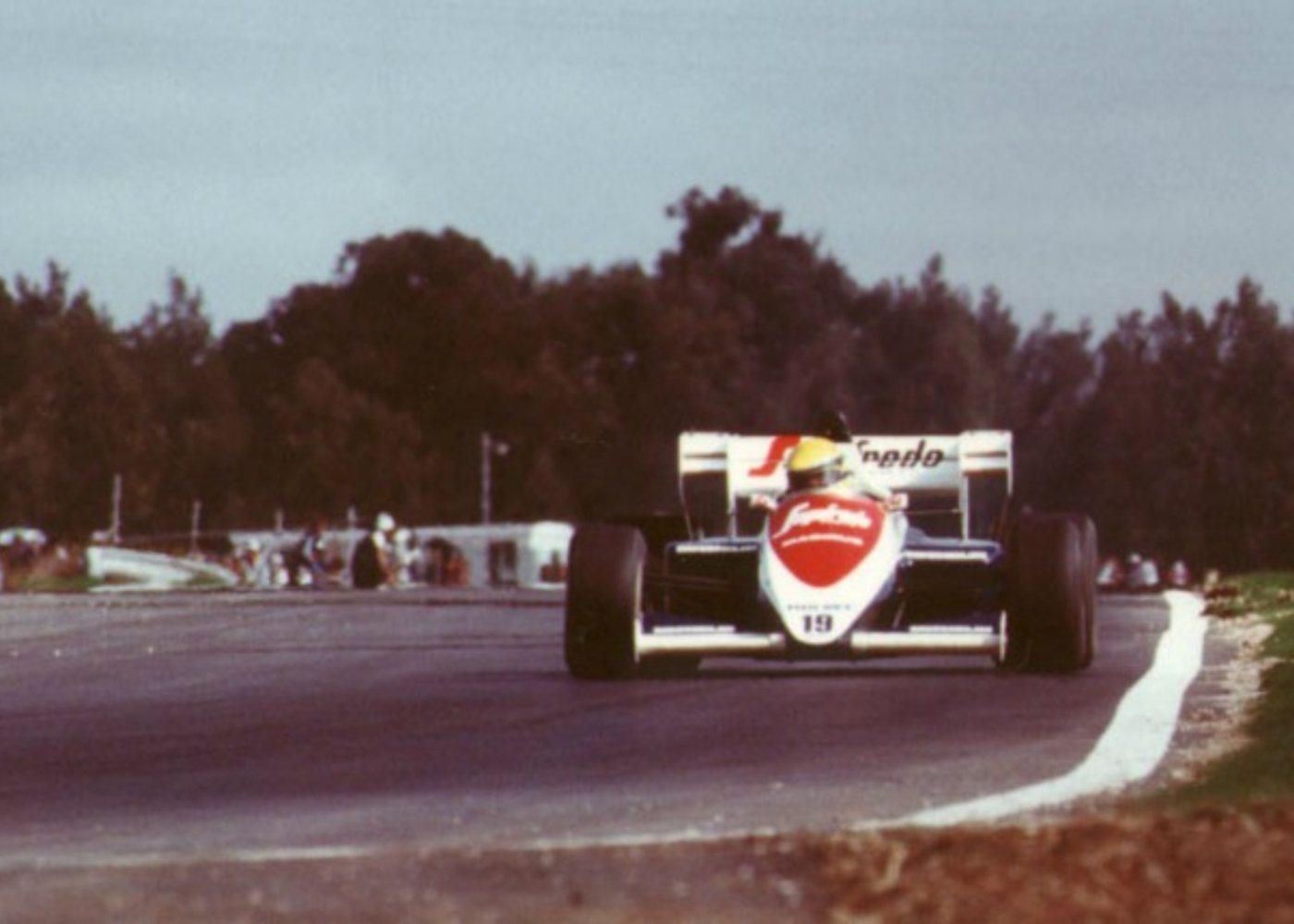 Toleman de Ayrton Senna