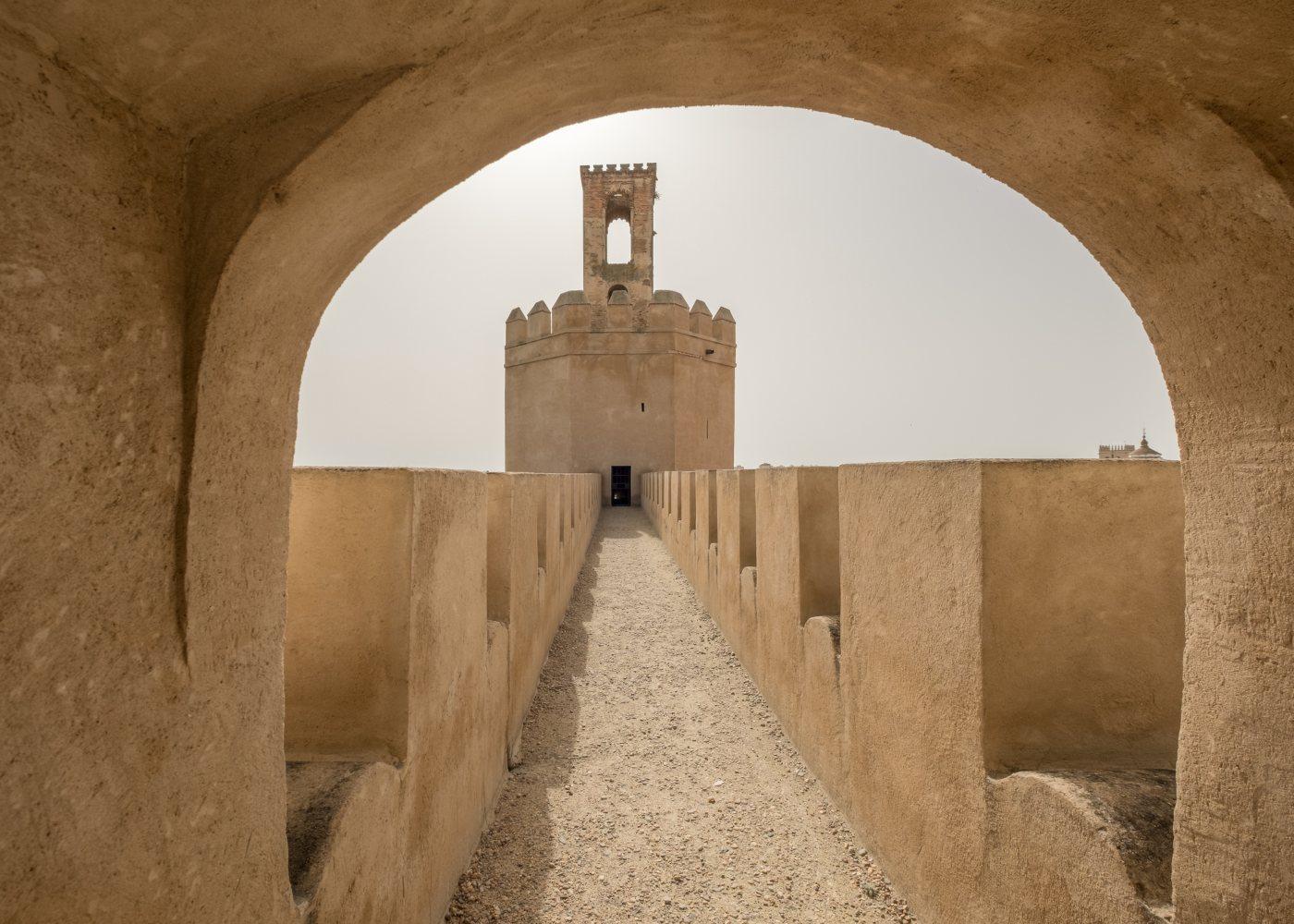 Forte mouro em Badajoz