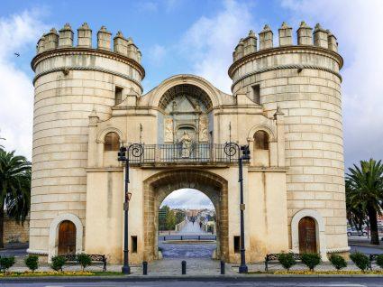 Portas de Badajoz em Espanha