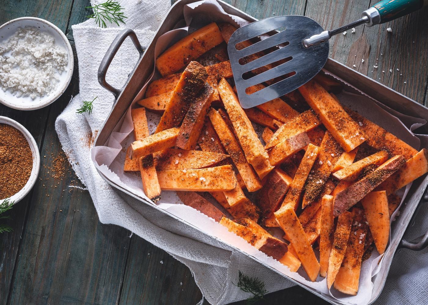 batata-doce com cominhos
