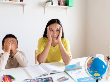 família a sentir o impacto da pandemia no ensino em casa