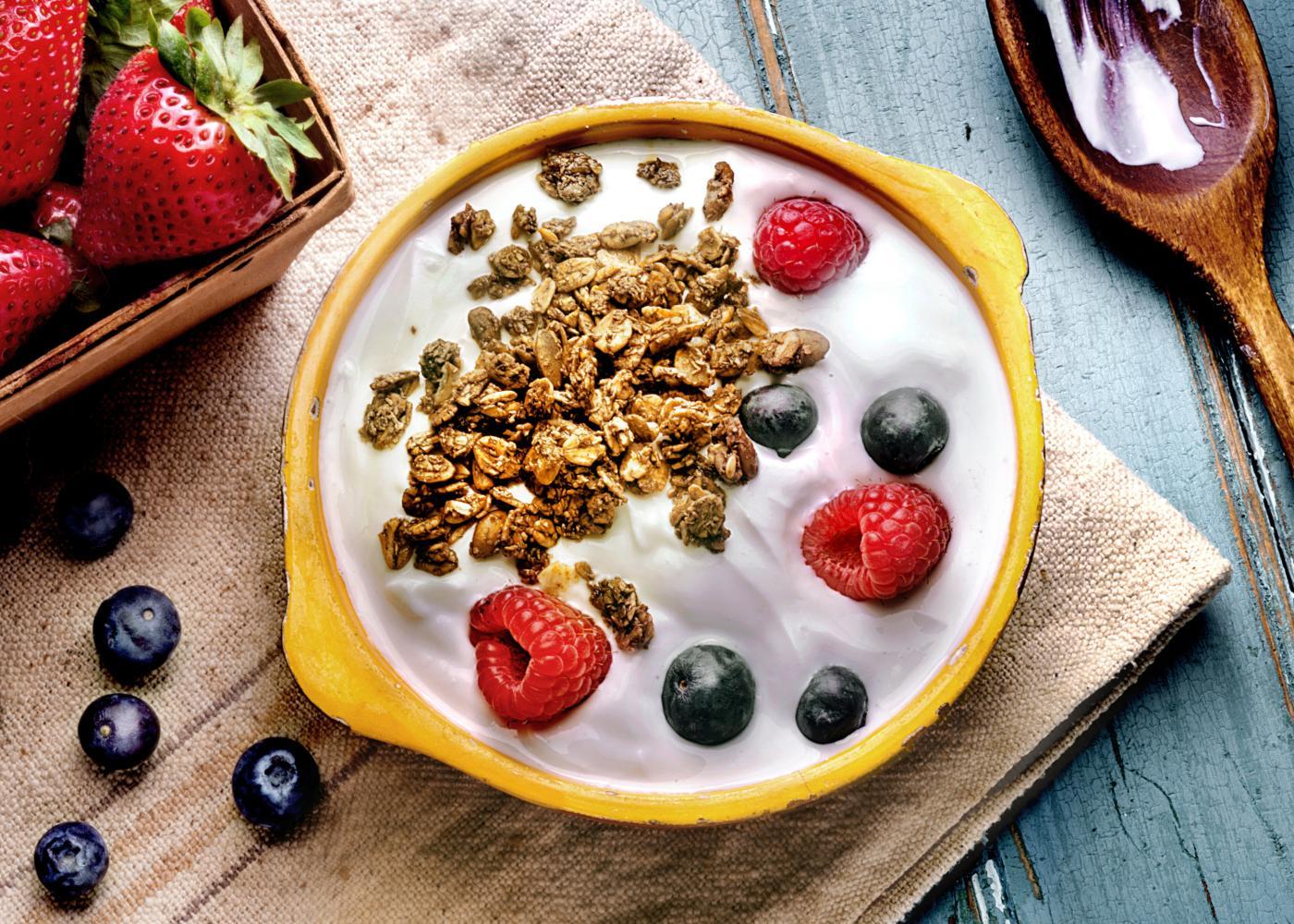 iogurte com fruta
