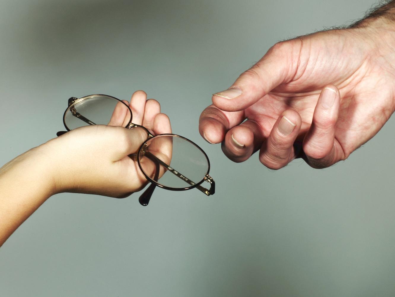 cuidados com os óculos