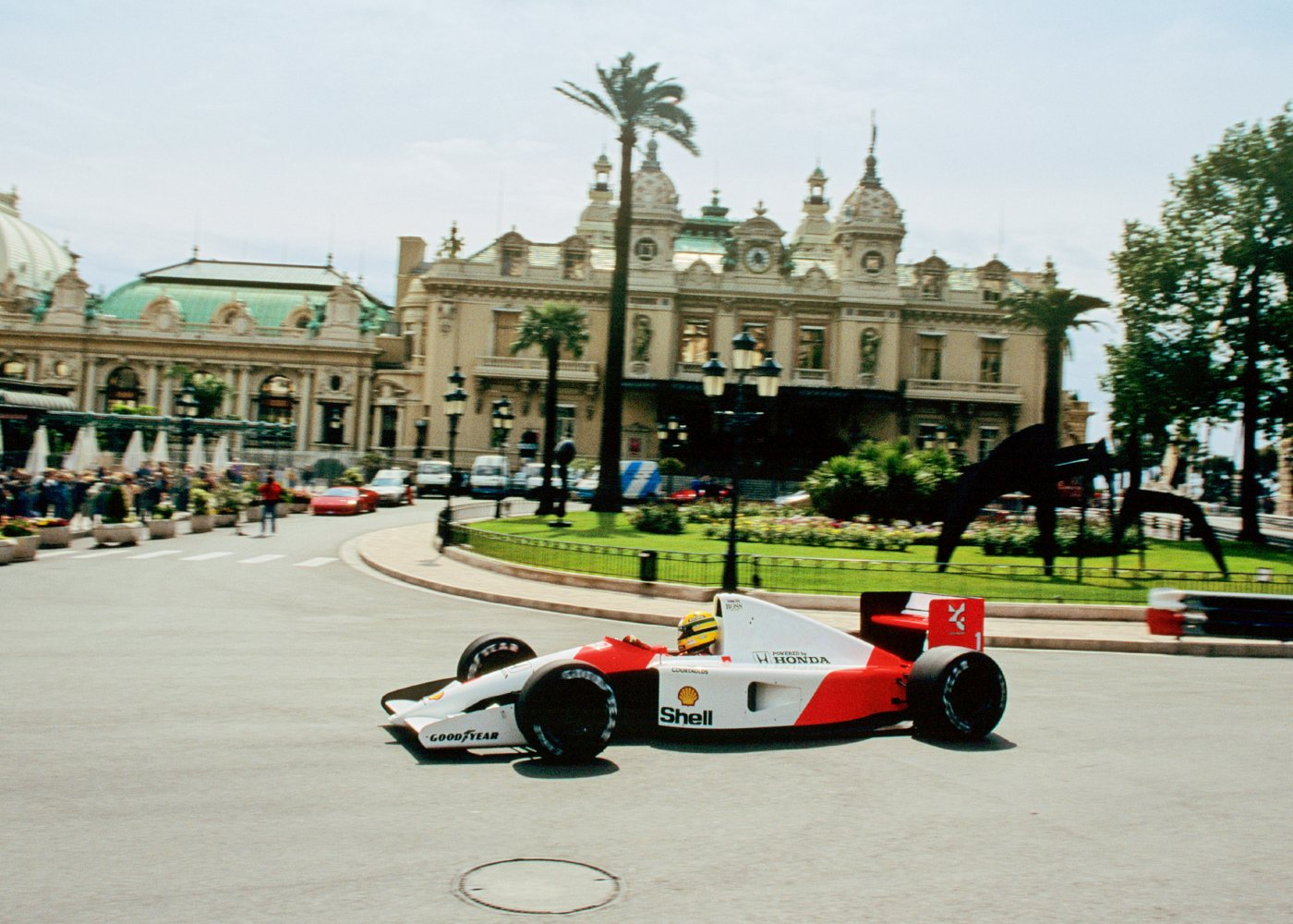 Ayrton Senna no Mónaco