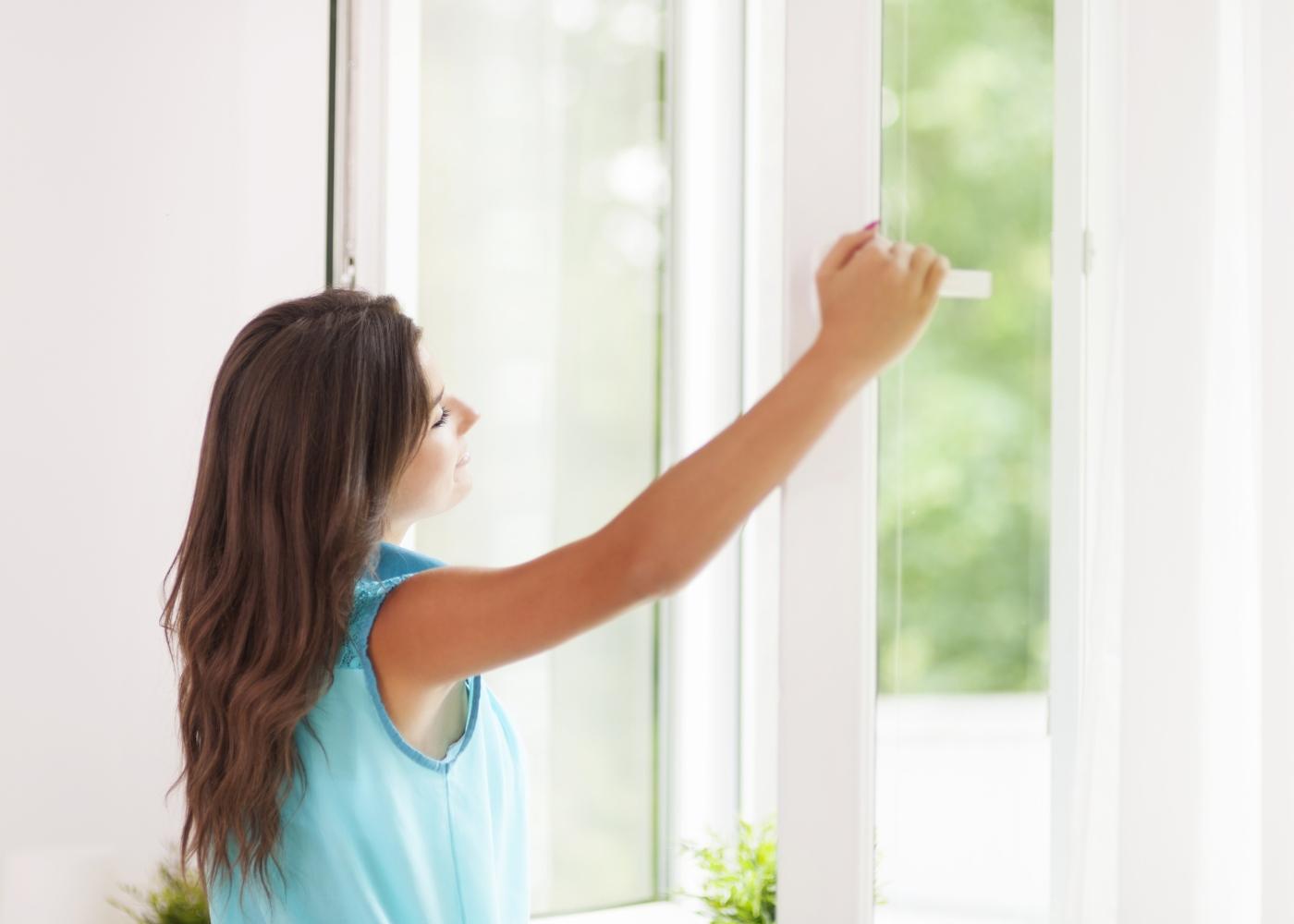 abrir janelas em casa