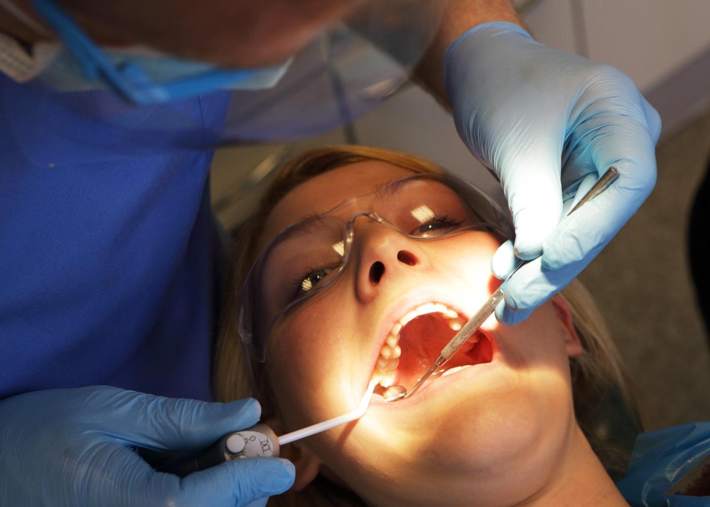 Tratamento no dentista