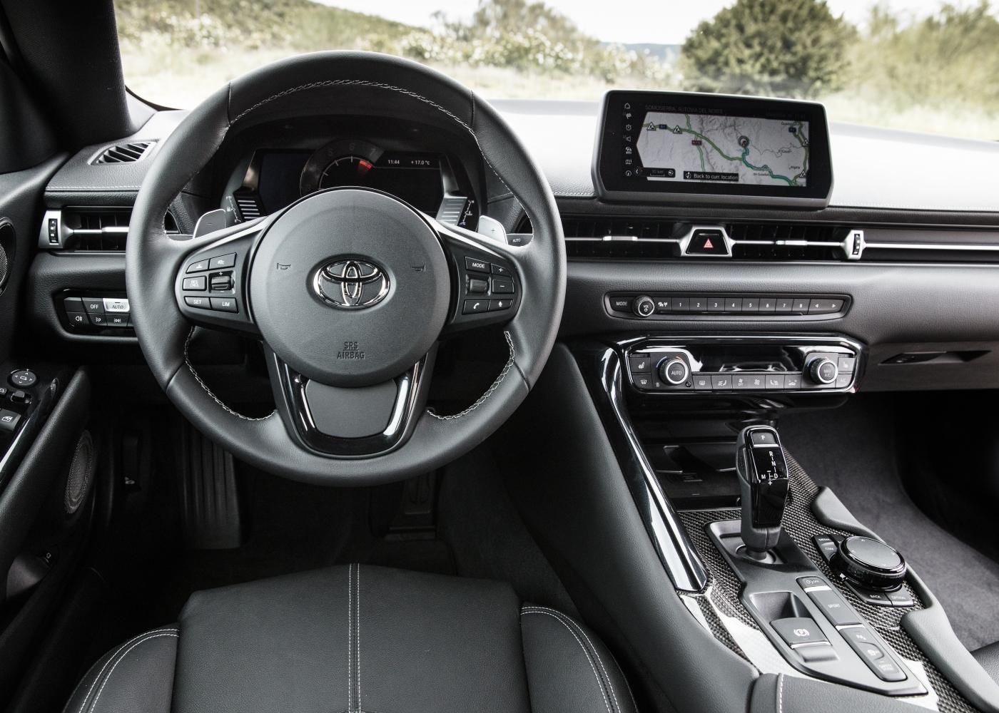 Interior Toyota Supra
