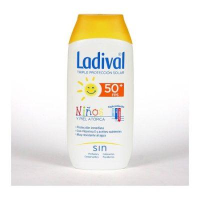 ladival protetor solar peles atópicas