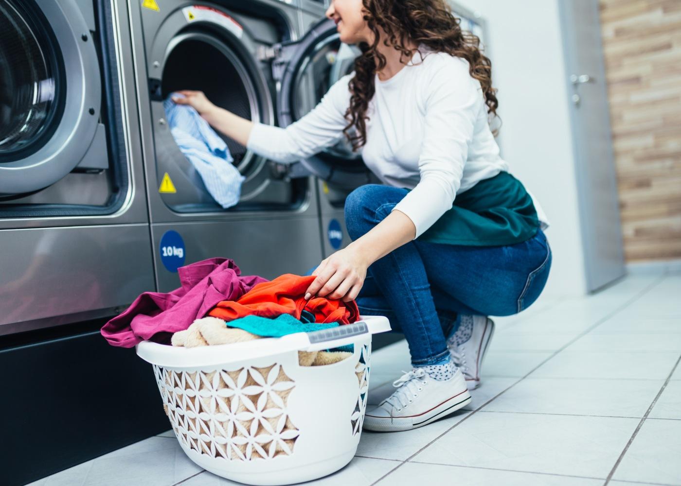 lavandarias públicas roupa