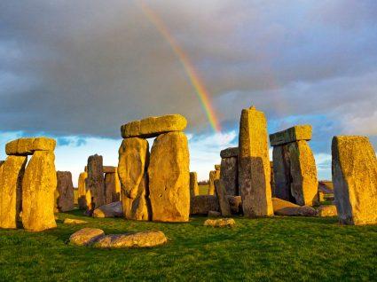 Fotografia de Stonehenge em Inglaterra