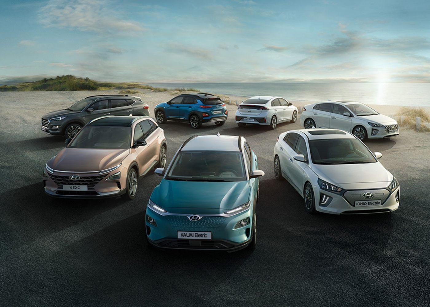 carros ecológicos hyundai