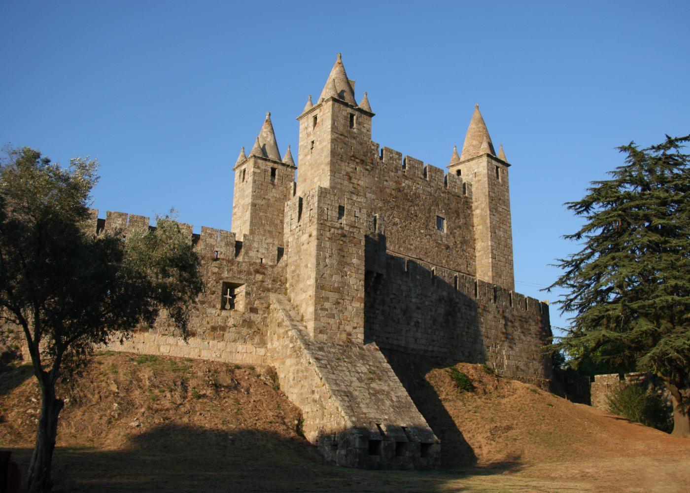 Castelos de Portugal em Santa Maria da Feira