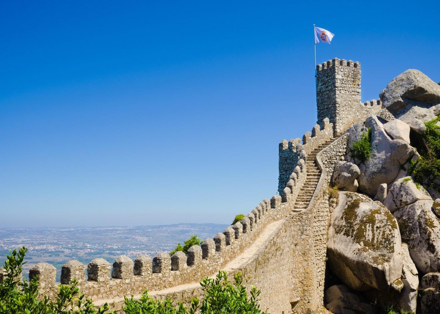 Castelos de Portugal em Sintra