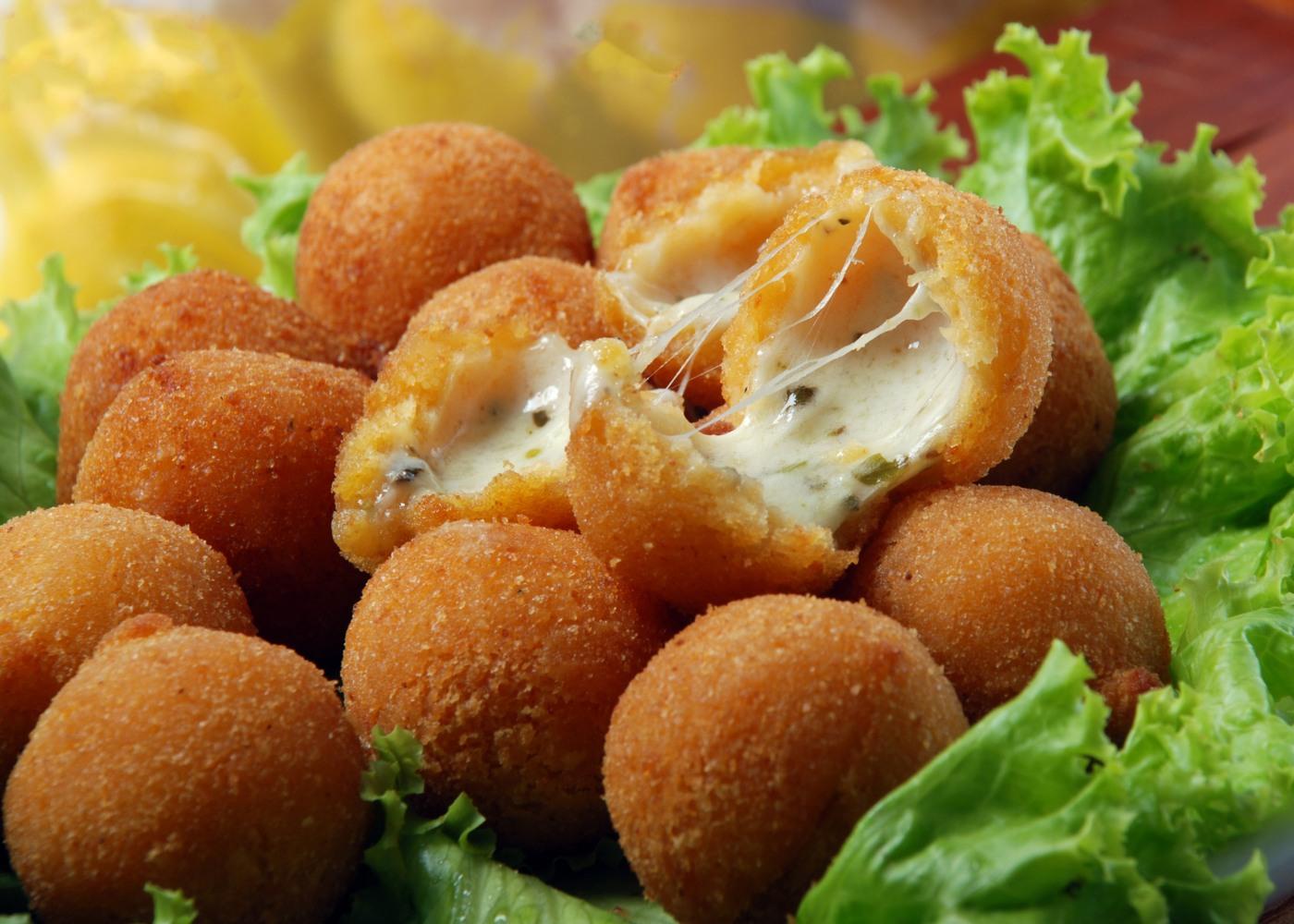 croquetes de queijo