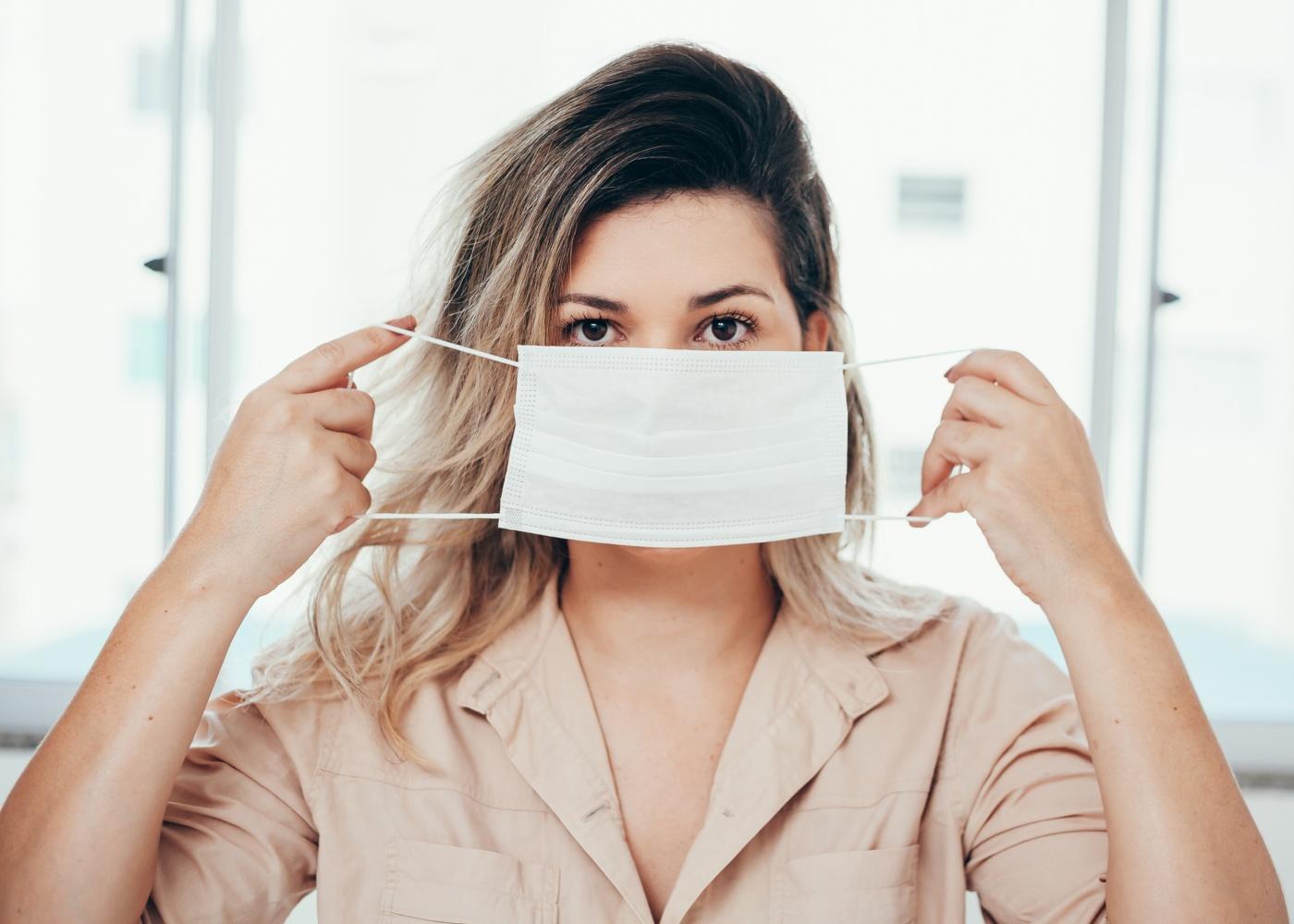 Cuidados a ter com a eple quando se usa máscara