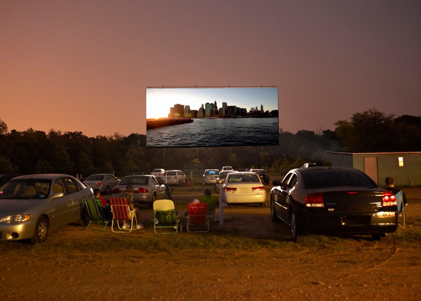 Cinema em drive-in