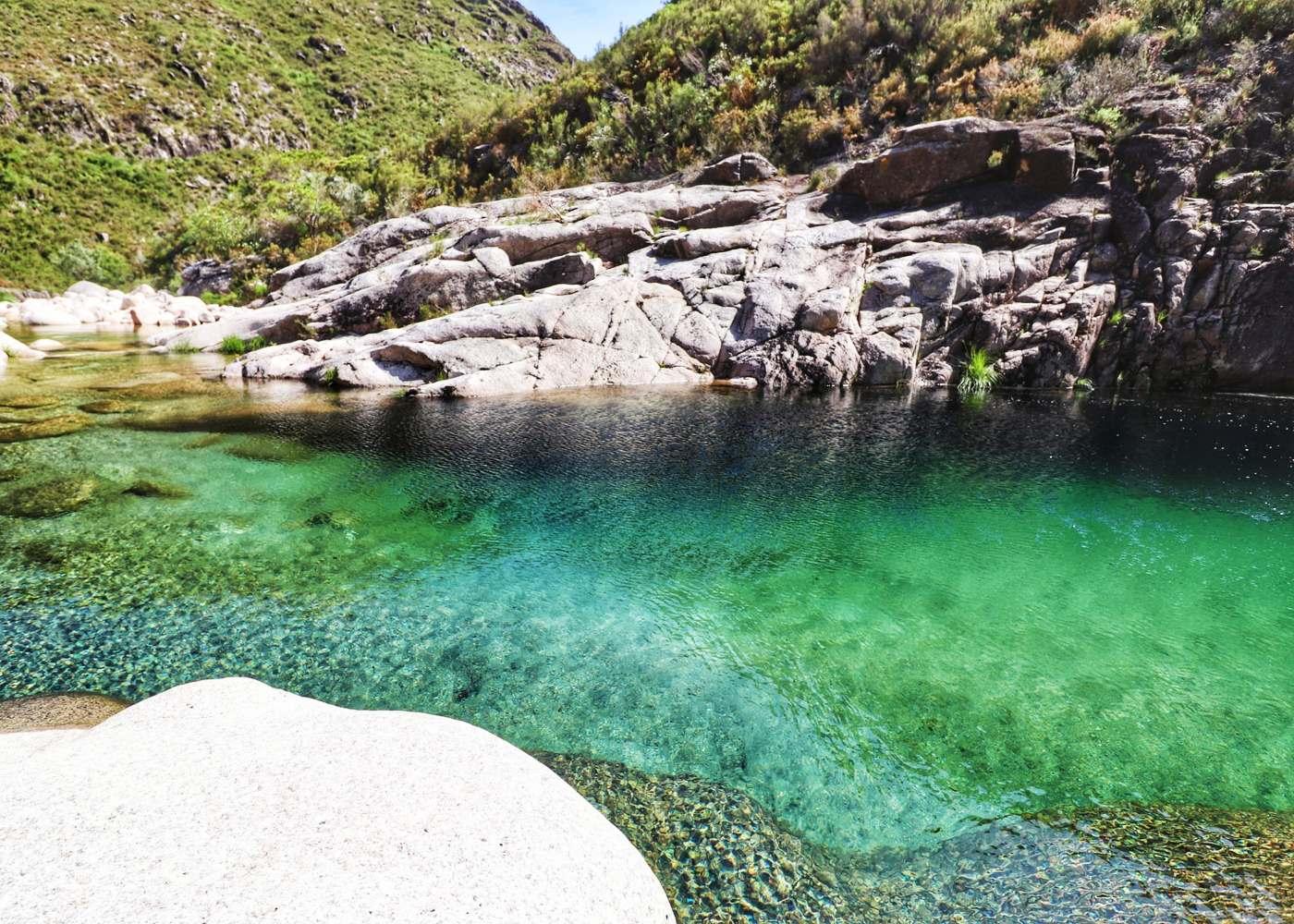 Lagoas em Fafião