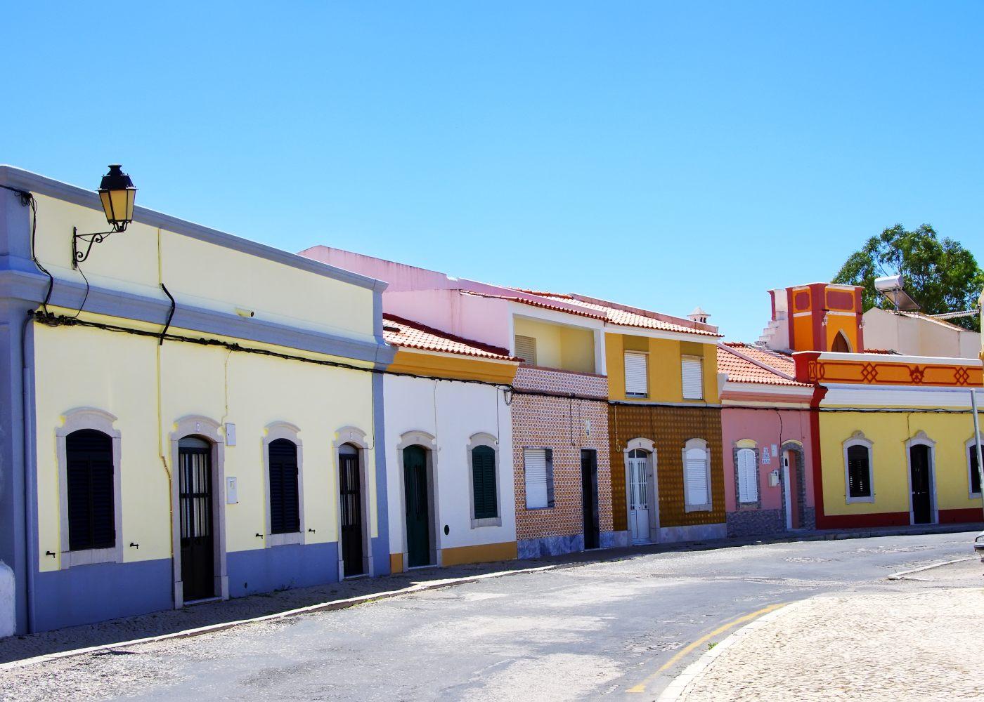 Rua na aldeia de Castro Marim