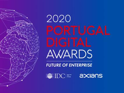 divulgação do prémio 2020 portugal digital awards