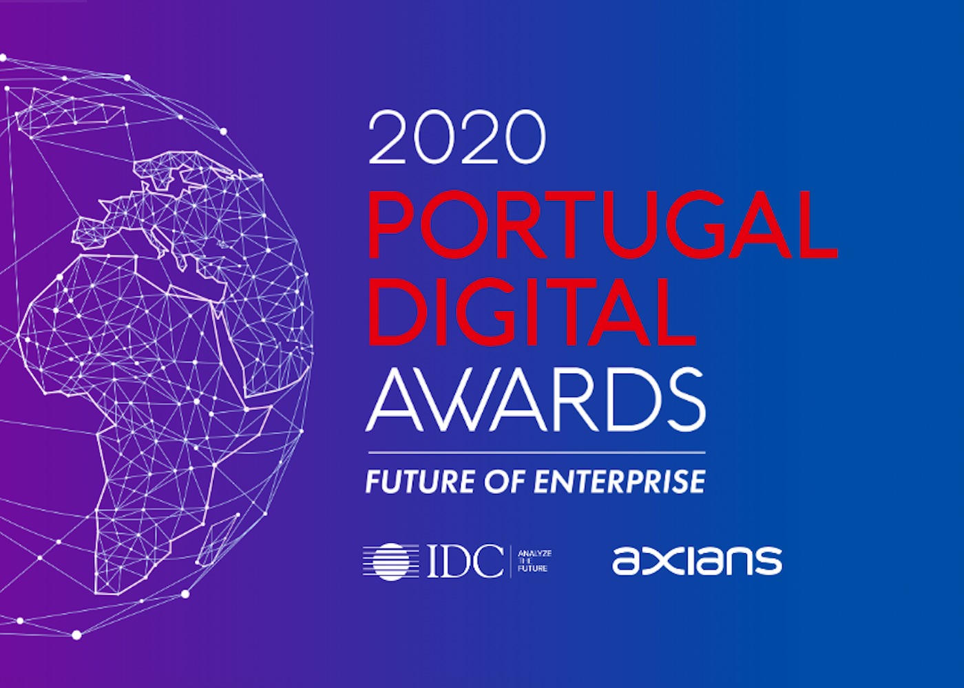 divulgação do prémio 2020 portugal digital awards