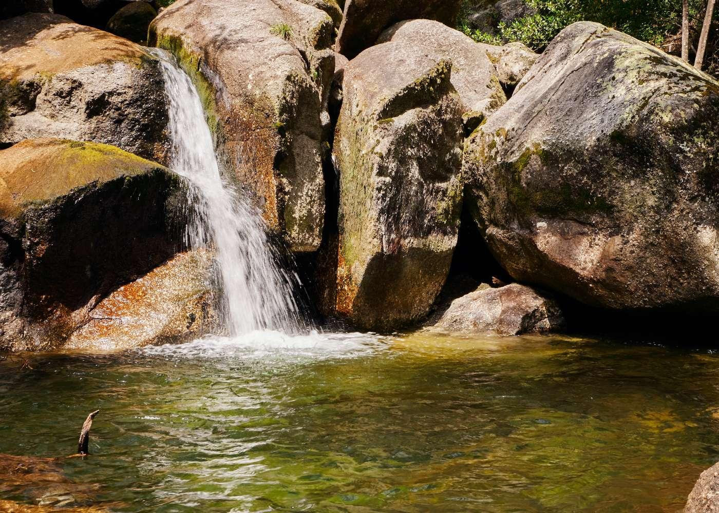 Queda de água na Queimadela